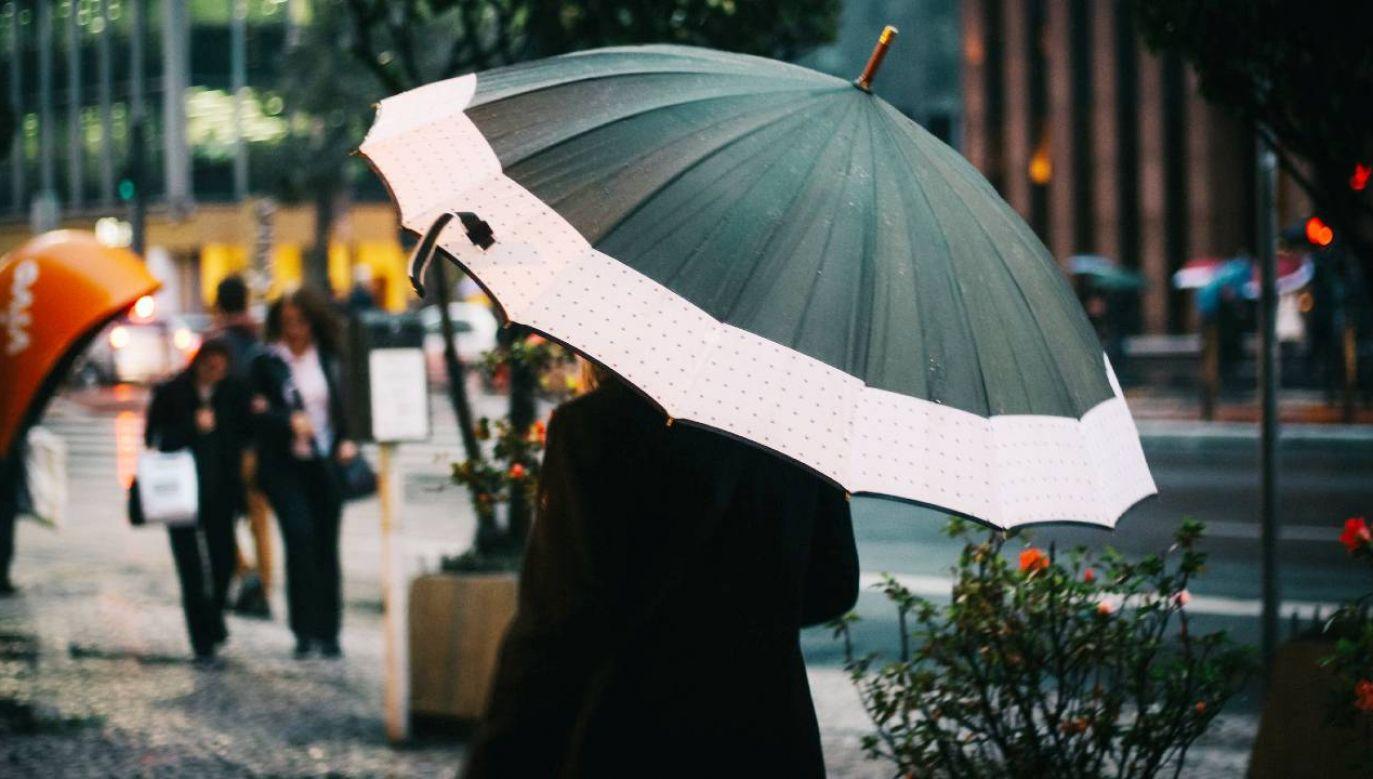 Nadchodzą deszcze i burze (fot. Pexels)