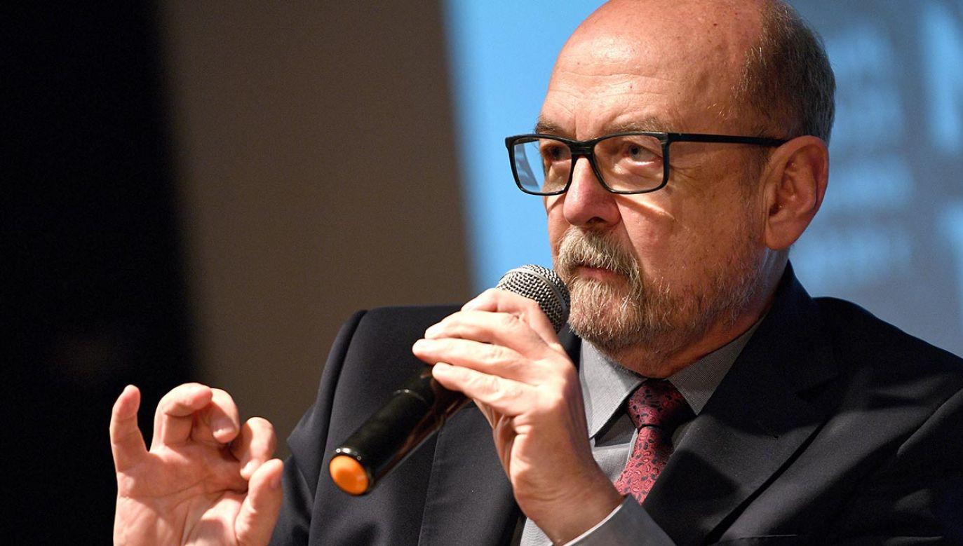 Europoseł Ryszard Legutko (fot.  PAP/Darek Delmanowicz)