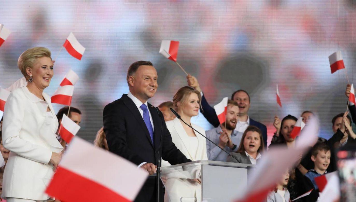 Cząstkowe wyniki wyborów prezydenckich (fot.PAP/Leszek Szymański)