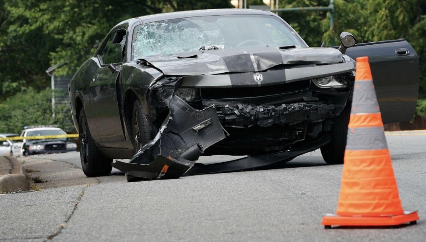 Według świadków zajścia kobieta miała jeszcze uderzyć jeszcze w dwa zaparkowane samochody (fot. Win McNamee/Getty Images, zdjęcie ilustracyjne)