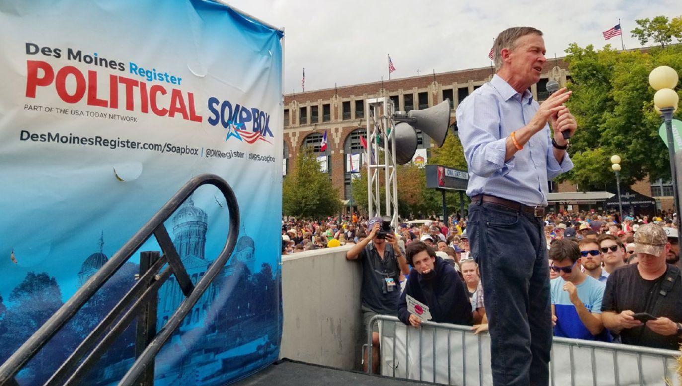 John Hickenlooper nie miał szans na nominację Partii Demokratycznej (fot. TT/Hickenlooper)