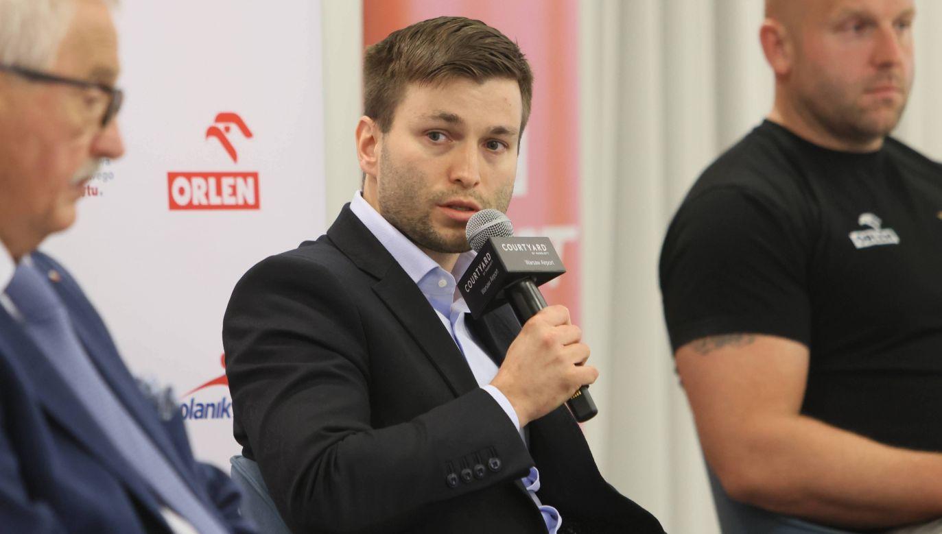 Marek Szkolnikowski dyrektorem TVP Sport jest od prawie pięciu lat (fot. PAP/Leszek Szymański)