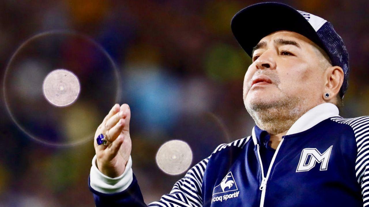 Diego Maradona zmarł 25 listopada ubiegłego roku (fot. M.Brindicci/Getty Images)