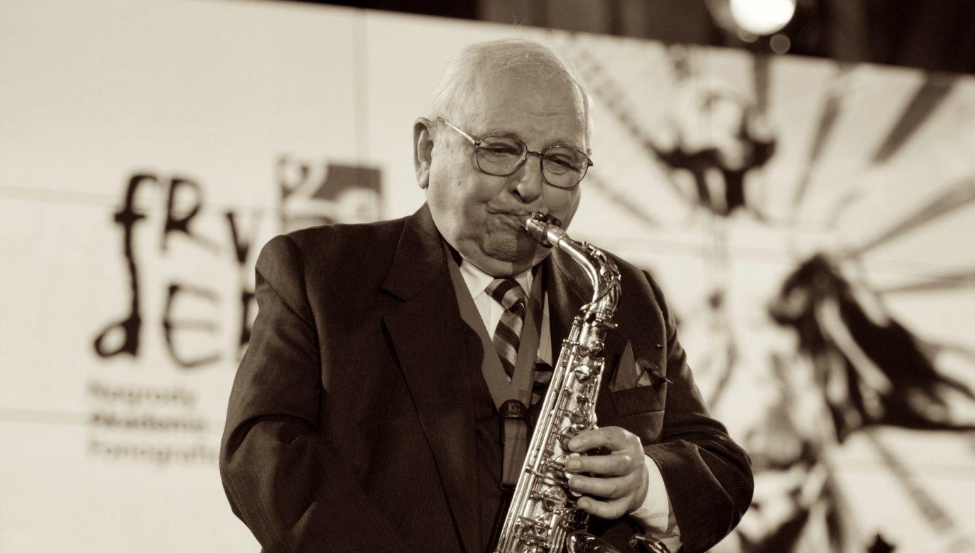 Kompozytor i saksofonista jazzowy Jerzy