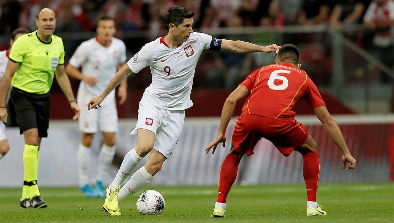 Był to ósmy w tych kwalifikacjach mecz Biało-Czerwonych (fot. PAP/Leszek Szymański)