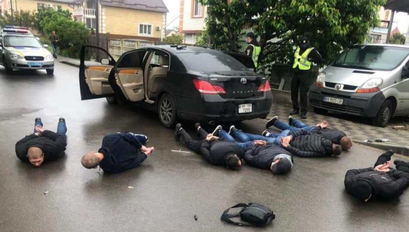 Policja zatrzymała 28 osób (fot. @AvakovArsen)