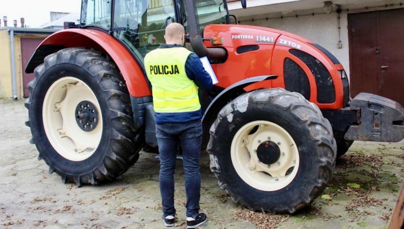 Wypadek w gospodarstwie rolniczym (fot. policja.pl, zdjęcie ilustracyjne)