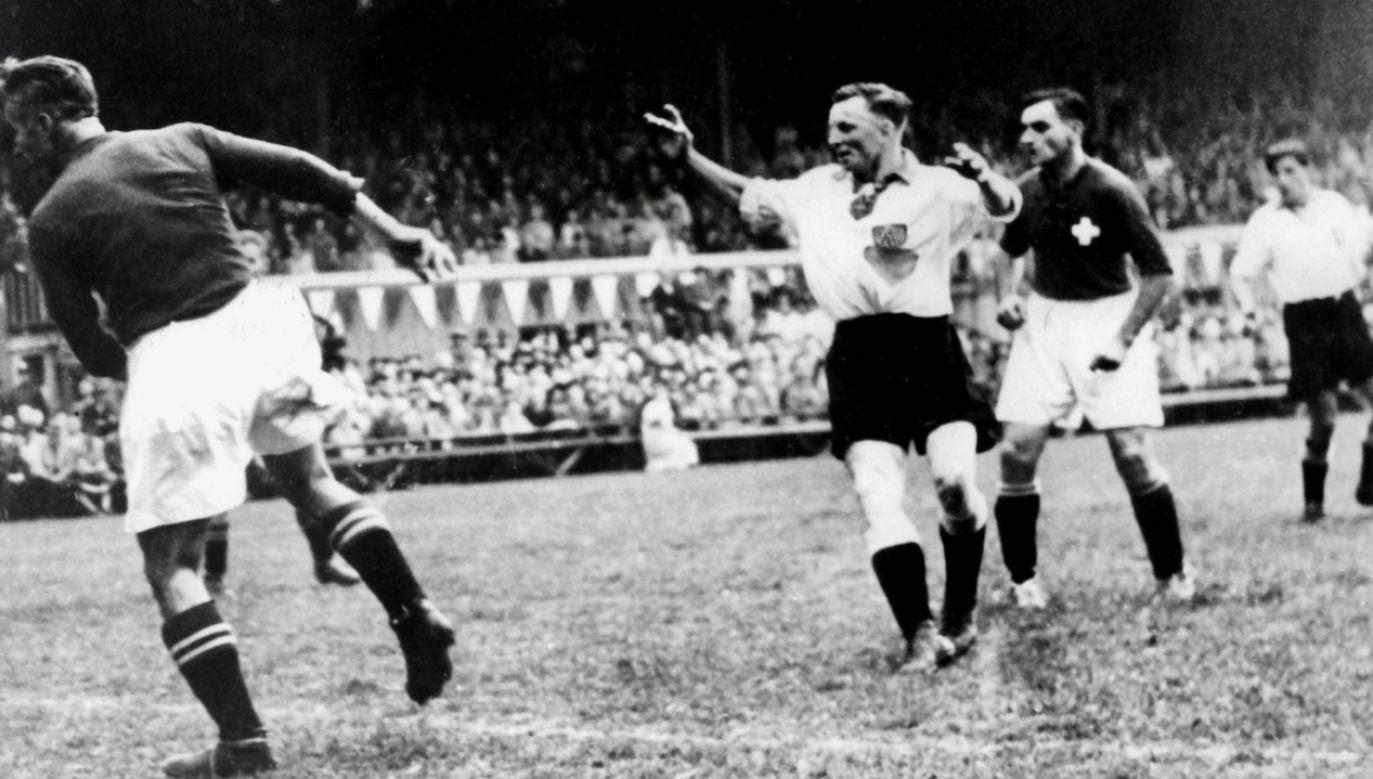 Ernest Wilimowski był zdecydowanie najlepszym polskim piłkarzem okresu międzywojennego (fot. arch.PAP/Picture-Alliance / ASA)