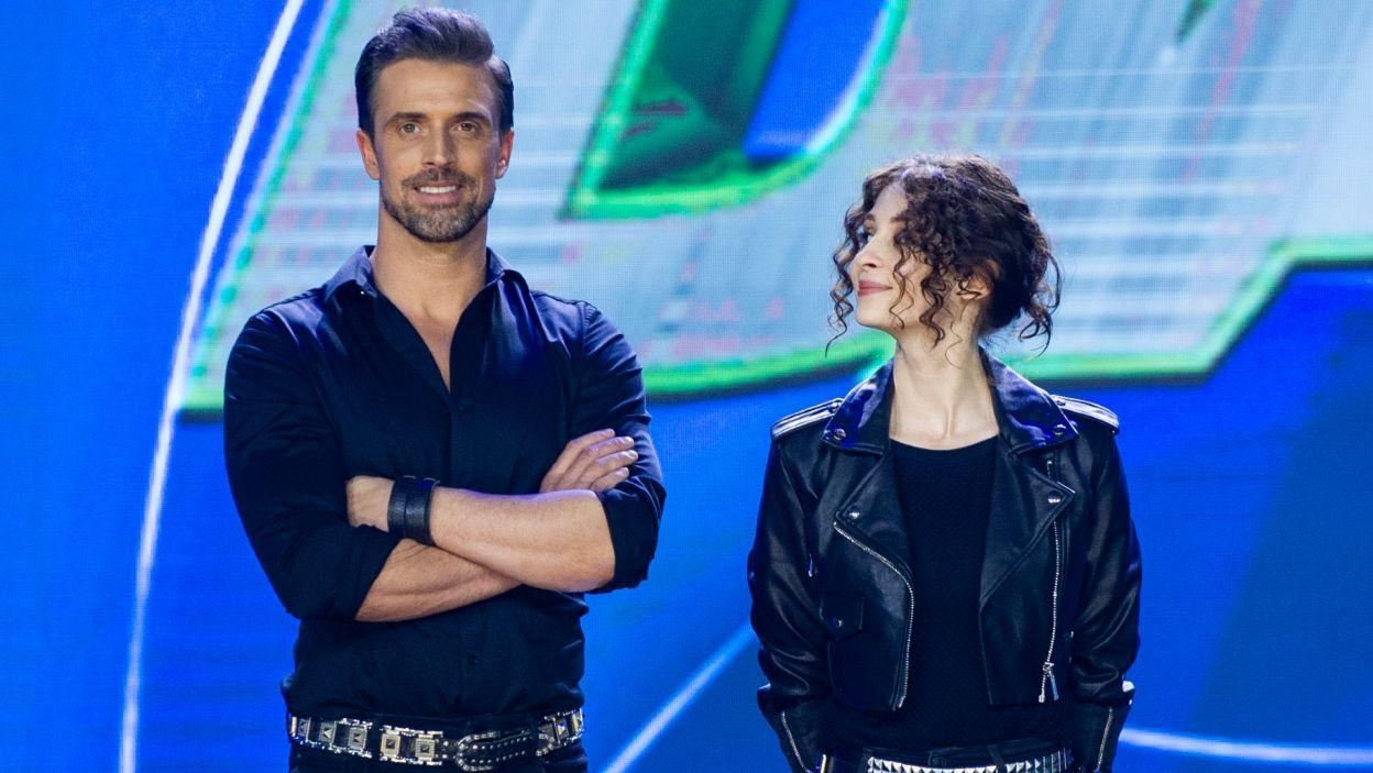 Według Joanny Jędrzejczyk duet Ani i Staszka jest czarnym koniem tej edycji! Czy finałowa choreografia była dla nich przepustką do zwycięstwa? To był taniec dwóch silnych osobowości (fot. TVP)