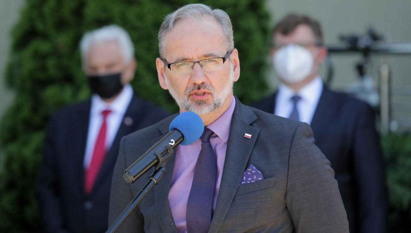 Adam Niedzielski, the Polish Health Minister. Photo: PAP/Tomasz Waszczuk