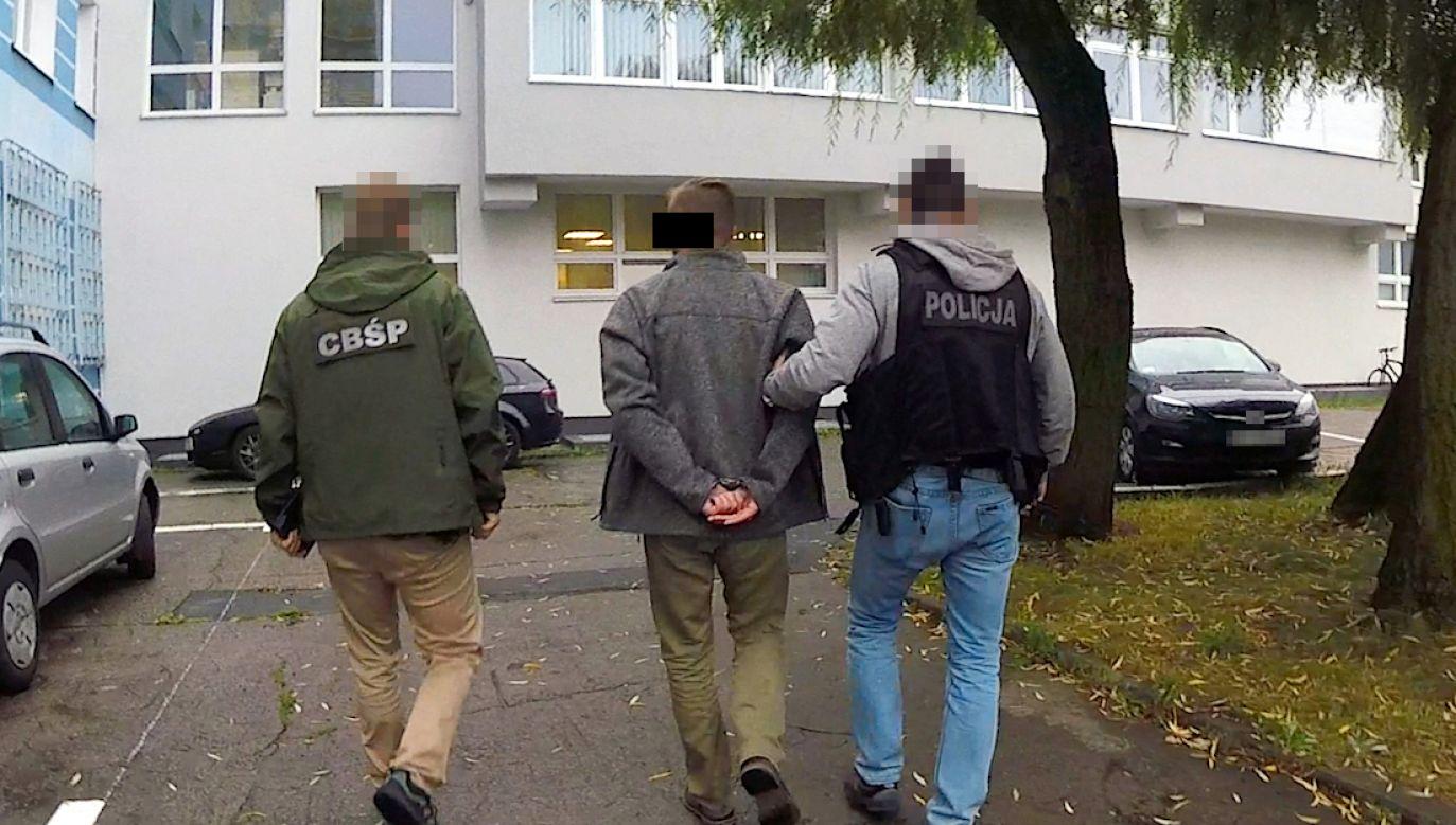 Wobec trzech podejrzanych sąd zgodził się na trzymiesięczny areszt (fot. CBŚP)