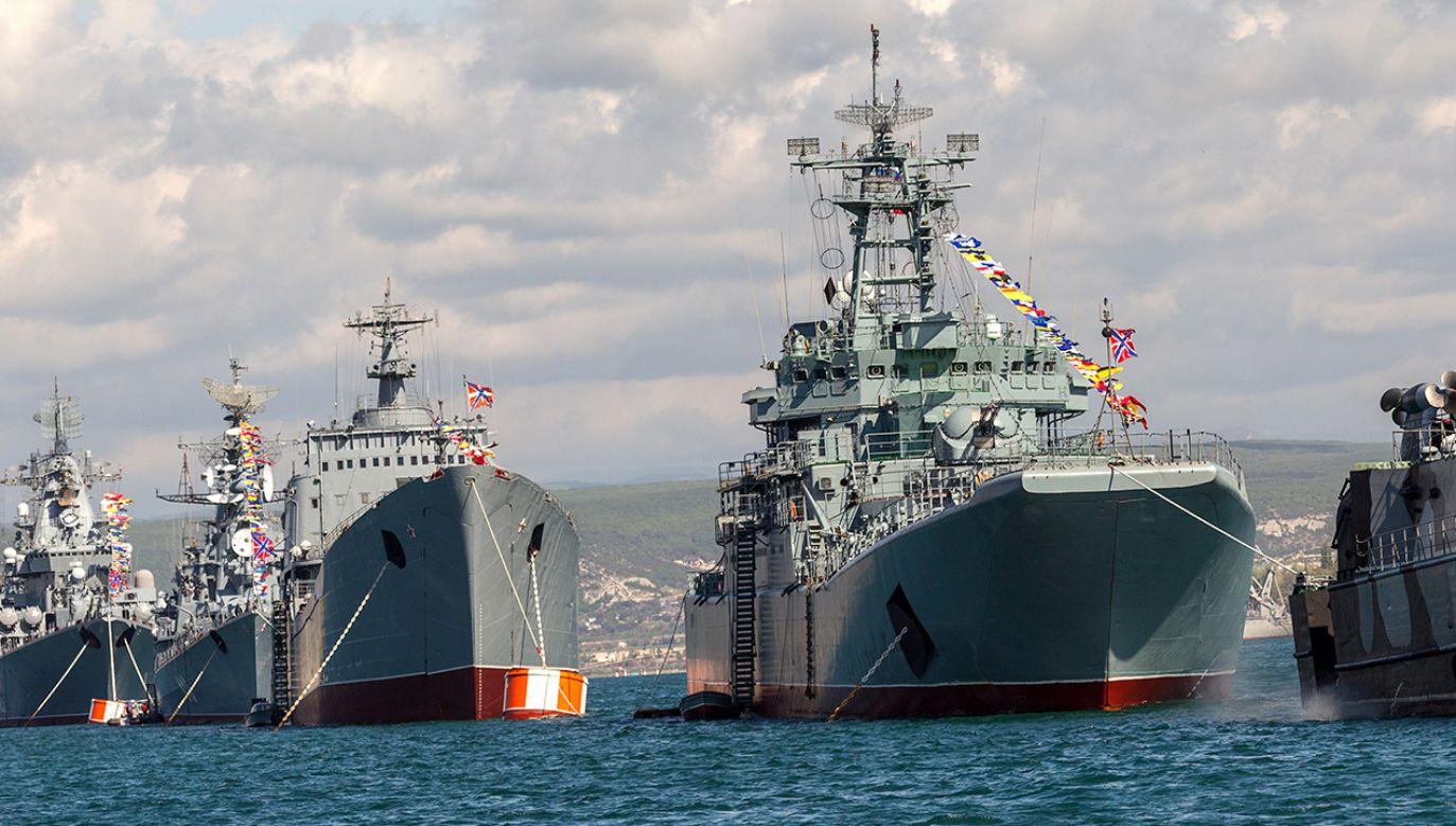 """W najbliższym czasie na wyposażeniu fregat mają znaleźć się hipersoniczne pociski przeciwokrętowe Cyrkon – zapowiadają """"Izwiestija"""" (fot. Shutterstock/A_Lesik)"""