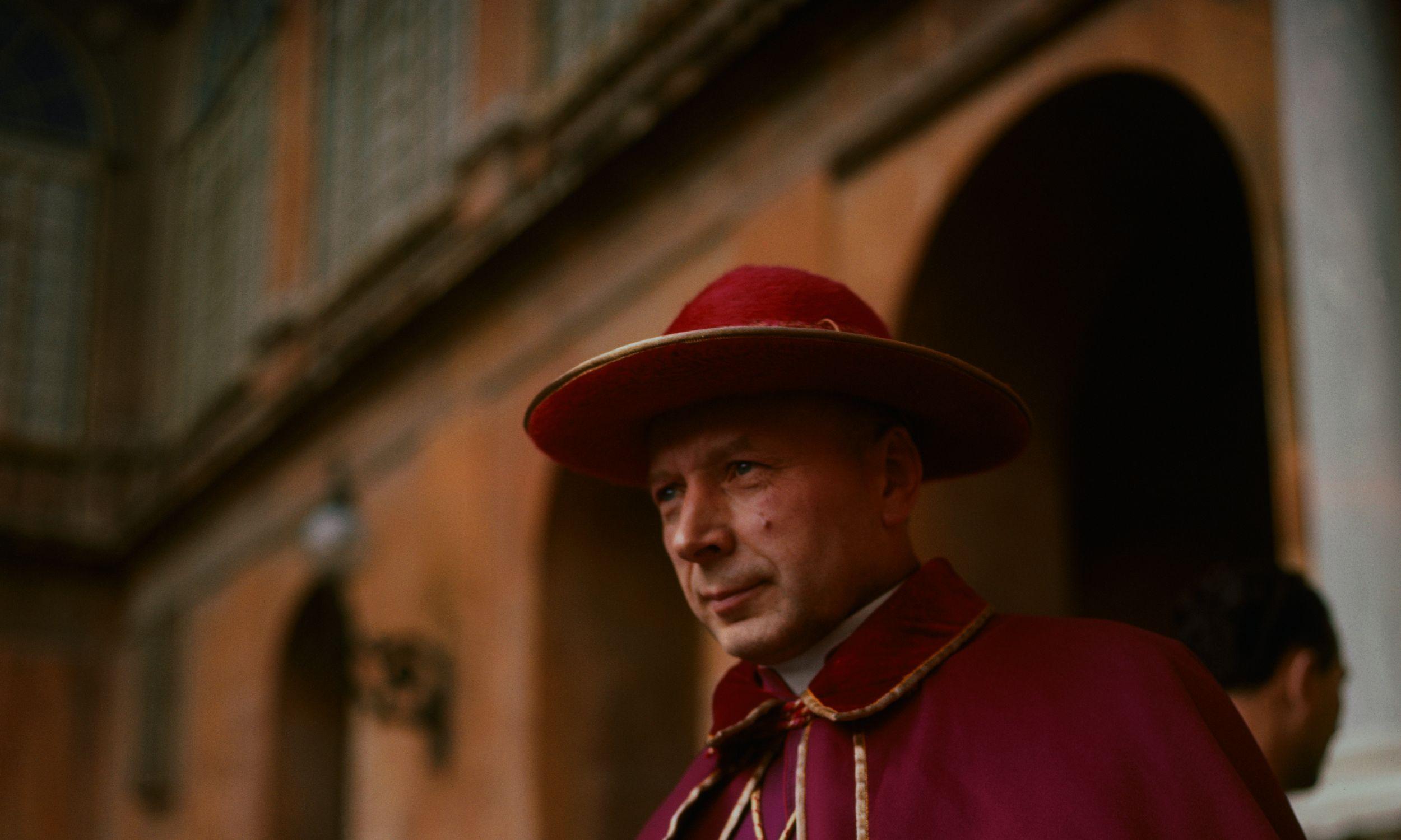 Podczas konklawe w 1958 roku kardynał Stefan Wyszyński otrzymał kilka głosów. Fot. Getty Images/Bettman