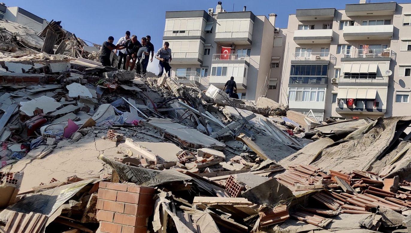 Nie ma informacji o ofiarach (fot.  Mehmet Emin Menguarslan/Anadolu Agency via Getty Images)