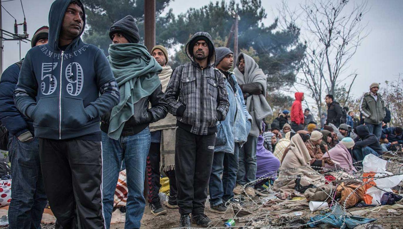 Migranci nigdy nie mieli przy sobie żadnych dokumentów tożsamości (fot. Diego Cupolo/NurPhoto/Getty Images)
