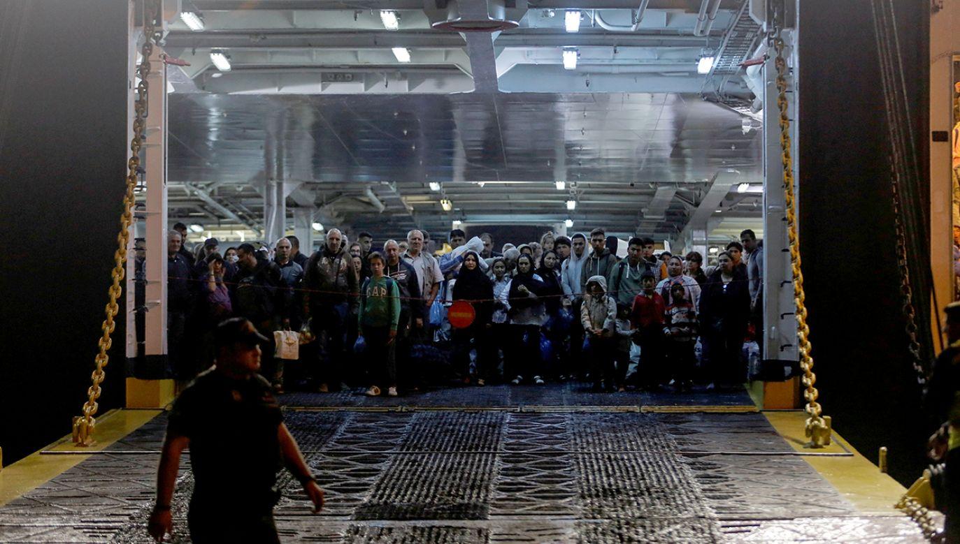 Grecja ponownie zmaga się z wielkim kryzysem migracyjnym (fot. REUTERS/Giorgos Moutafis)