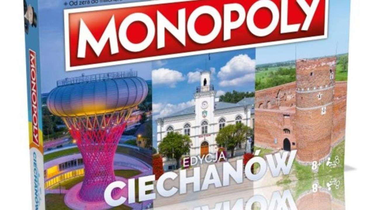"""""""Monopoly Ciechanów"""" jest już w sprzedaży (fot. UM Ciechanów)"""