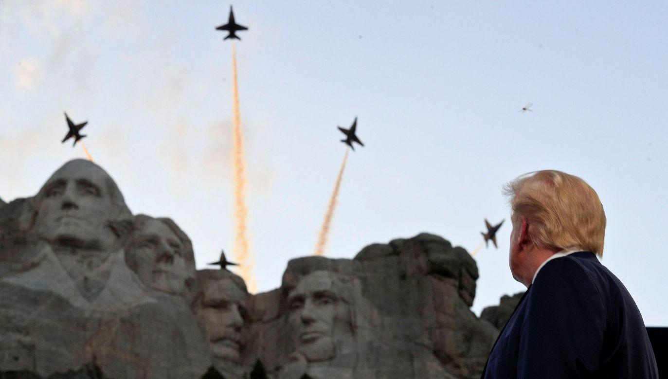 Dzień Niepodległości USA to święto państwowe obchodzone corocznie 4 lipca (fot. REUTERS/Tom Brenner)