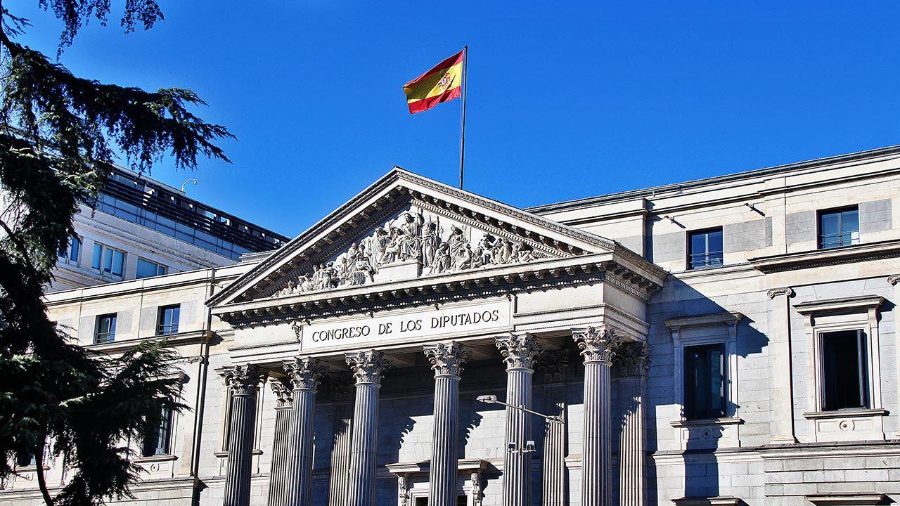 Kongres Deputowanych – izba niższa dwuizbowego parlamentu hiszpańskiego (fot. Shutterstock/b-hide the scene)