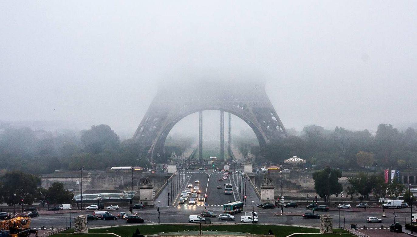 Paryż nie może pochwalić się jakością powietrza (fot. Wiki 2.0/Jean-François Gornet)