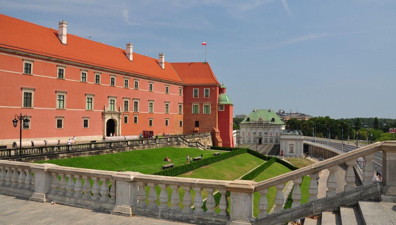 Zamek Królewski w Warszawie (fot. pixabay.com/Kamyq)