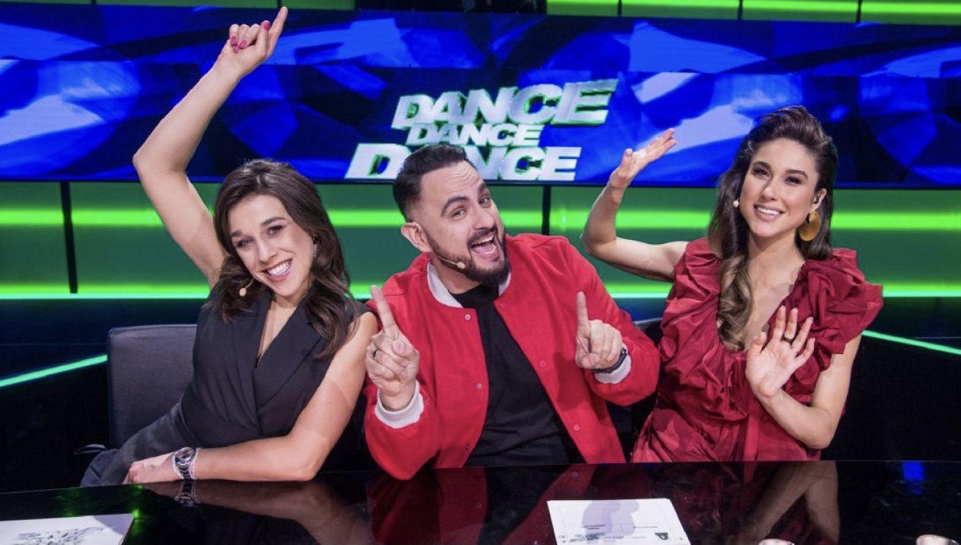"""Dotychczasowe odcinki show """"Dance Dance Dance"""" emitowano w piątki(fot. TVP)"""