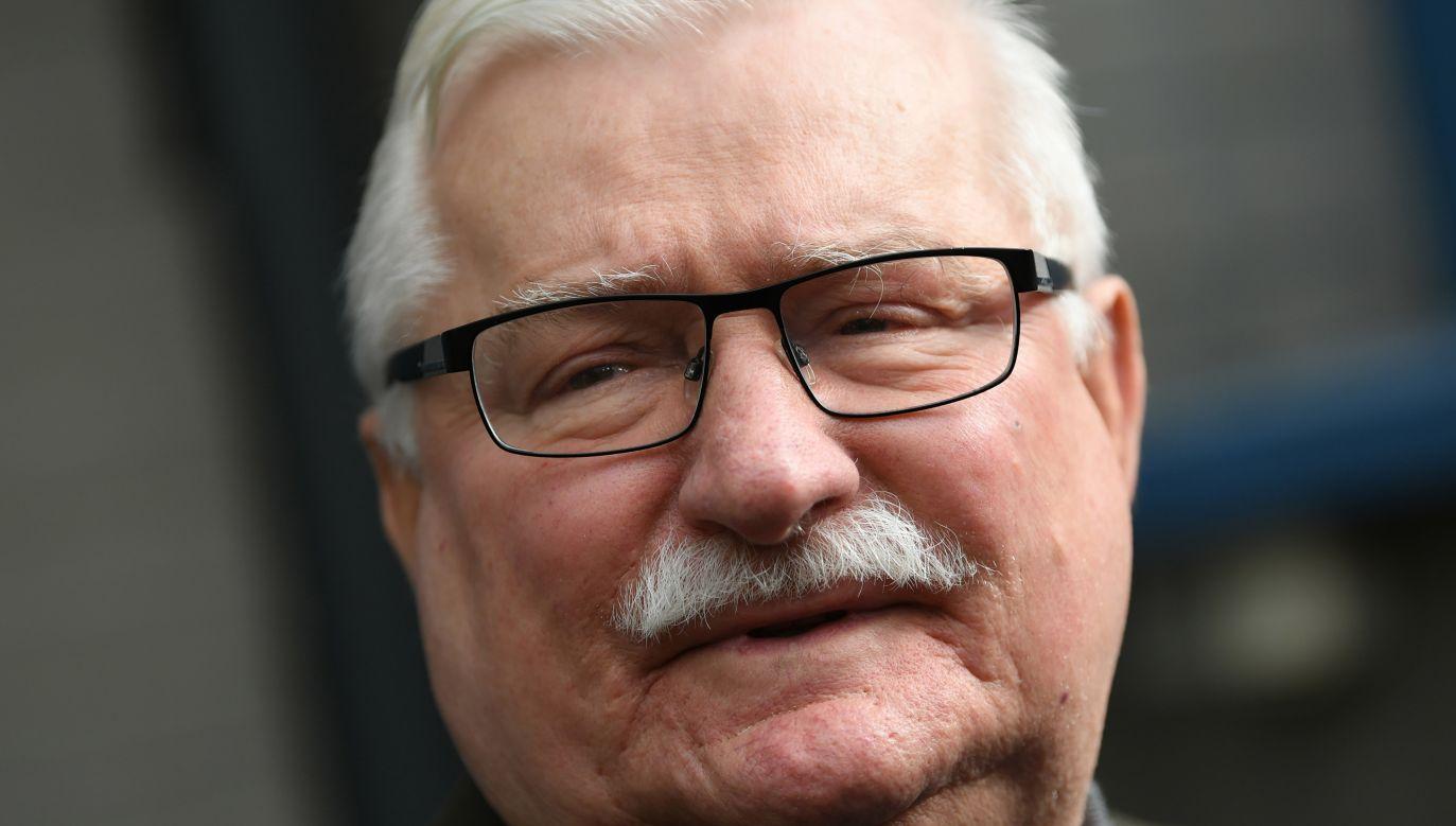 Były prezydent Lech Wałęsa skomentował odebranie mu patronatu szkoły (fot. arch. PAP/Adam Warżawa)