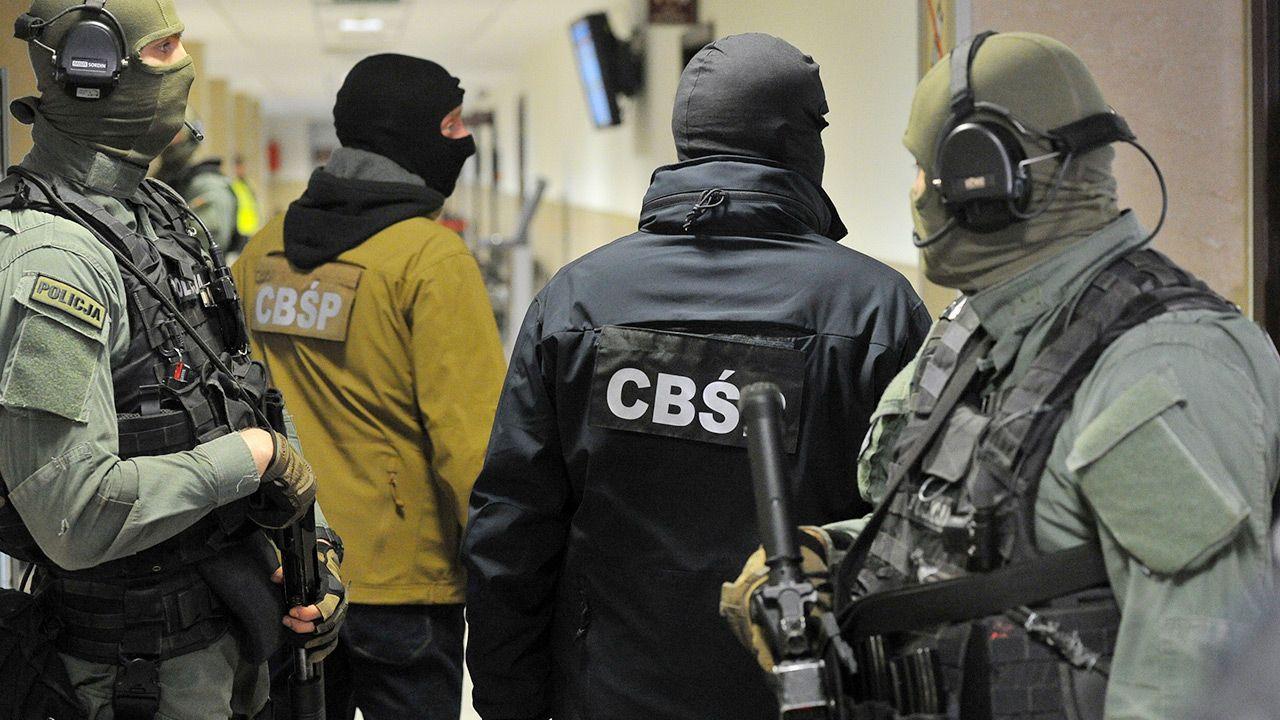 Zatrzymania dokonało CBŚP (fot. arch. PAP/Marcin Bielecki)