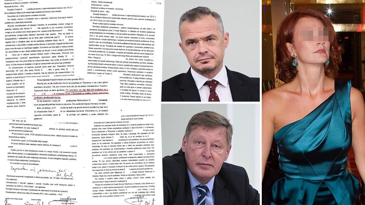Przyjaciel Nowaka spotykał się z przedstawicielami skarbówki ws. kontroli finansów żony byłego ministra (fot. PAP)