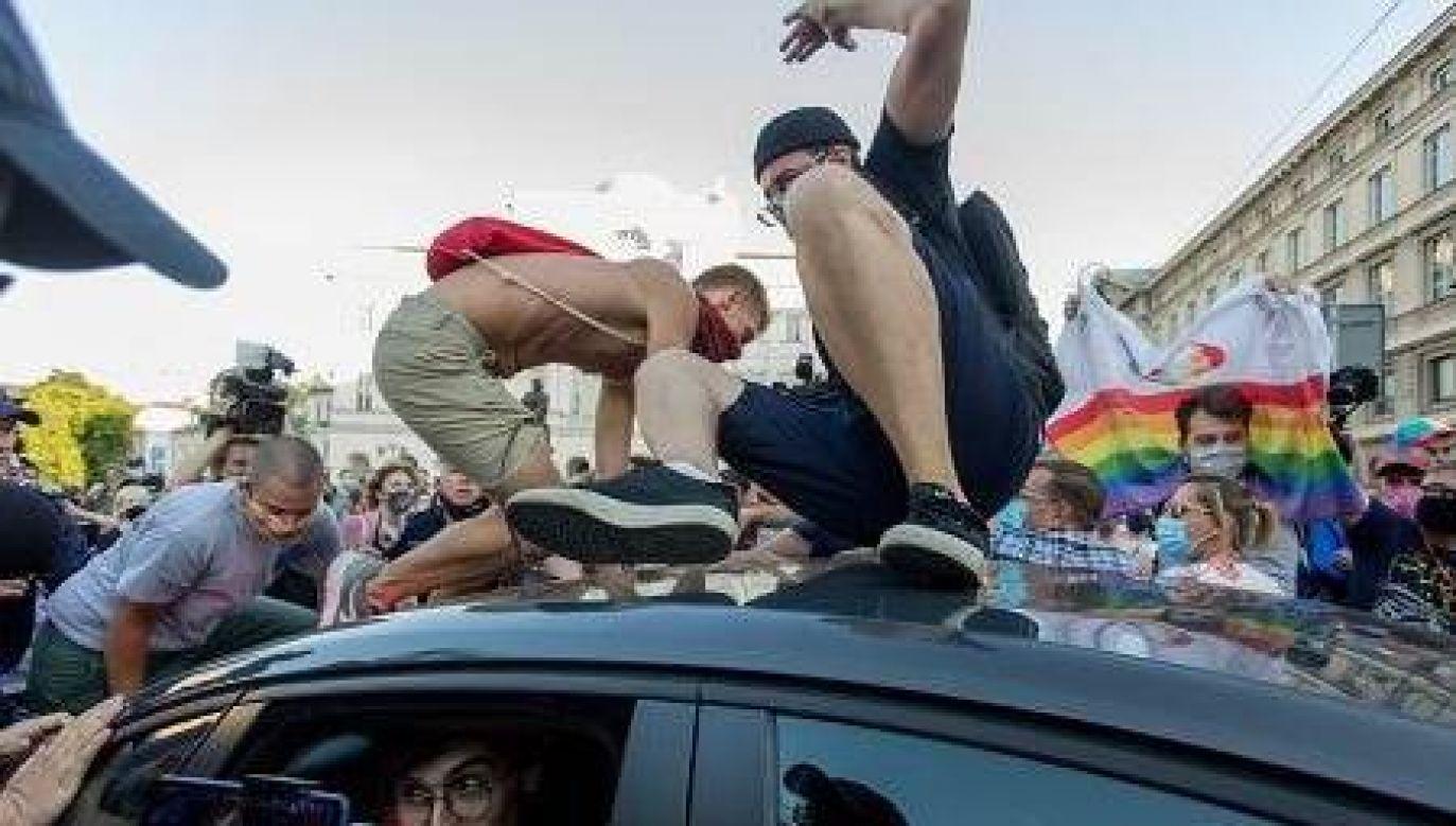 Policja zatrzymała 48 uczestników piątkowego protestu (fot. Twitter/Policja)
