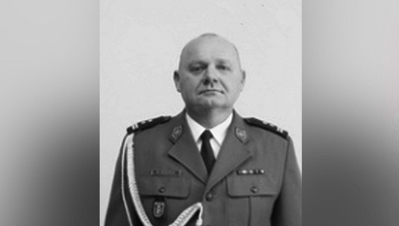 Nie żyje mł. insp. Marek Swędrak, zastępca dowódcy oddziału prewencji policji w Warszawie (fot. Policja)