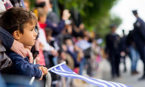 Narodowi Dzień Ochi w Atenach, 28 października 2015. Fot. Kostas Pikoulas/Pacific Press/LightRocket via Getty Images