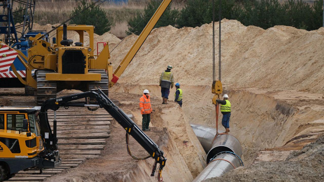 Budowa Nord Stream 2 może być powstrzymana przez USA (fot. Sean Gallup/Getty Images)