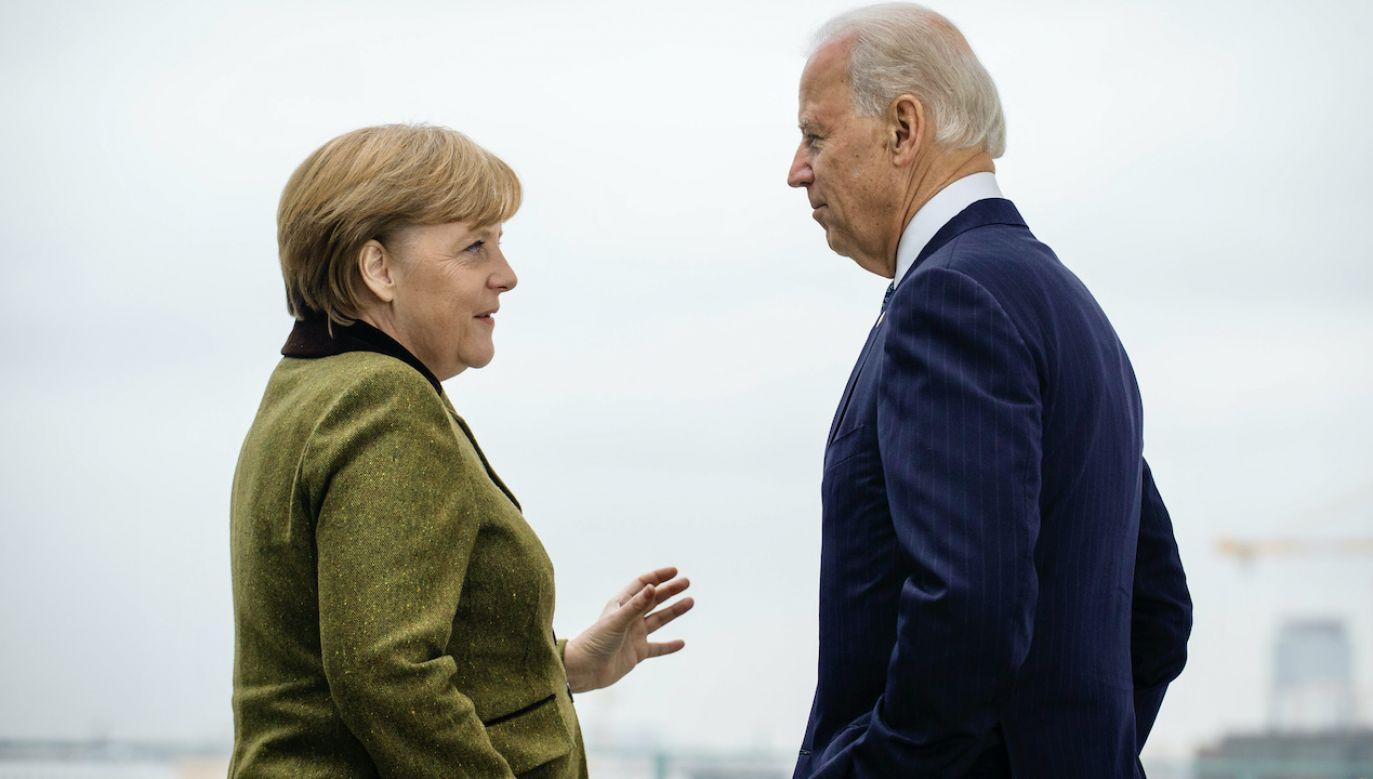 Wizyta Merkel w Białym Domu (fot. S. Kugler-Bundesregierung-Pool/Getty Images)