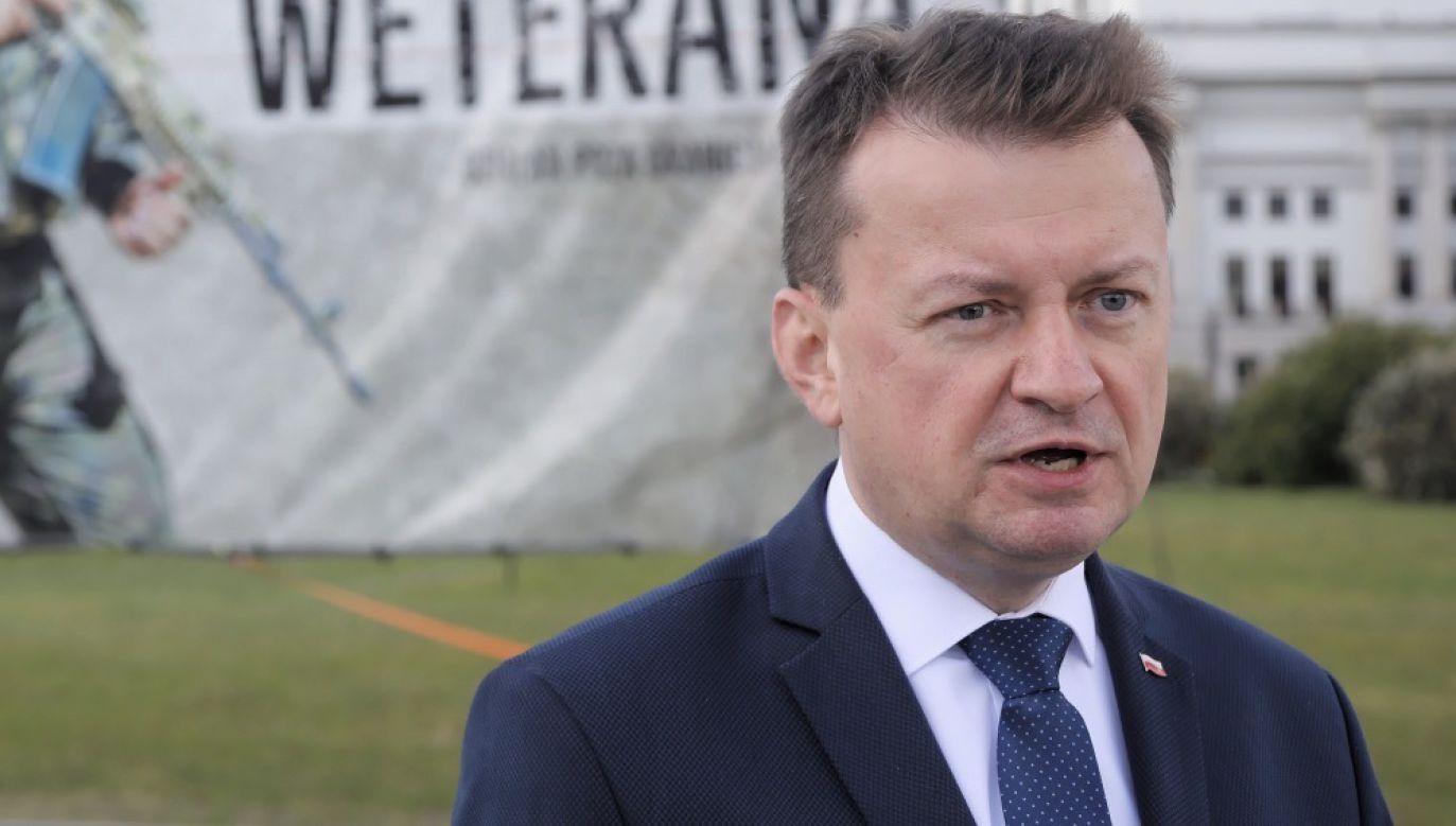 """Według szefa MON, wybory prezydenckie odbędą się """"najpóźniej 28 czerwca"""" (fot. PAP/Wojciech Olkuśnik)"""