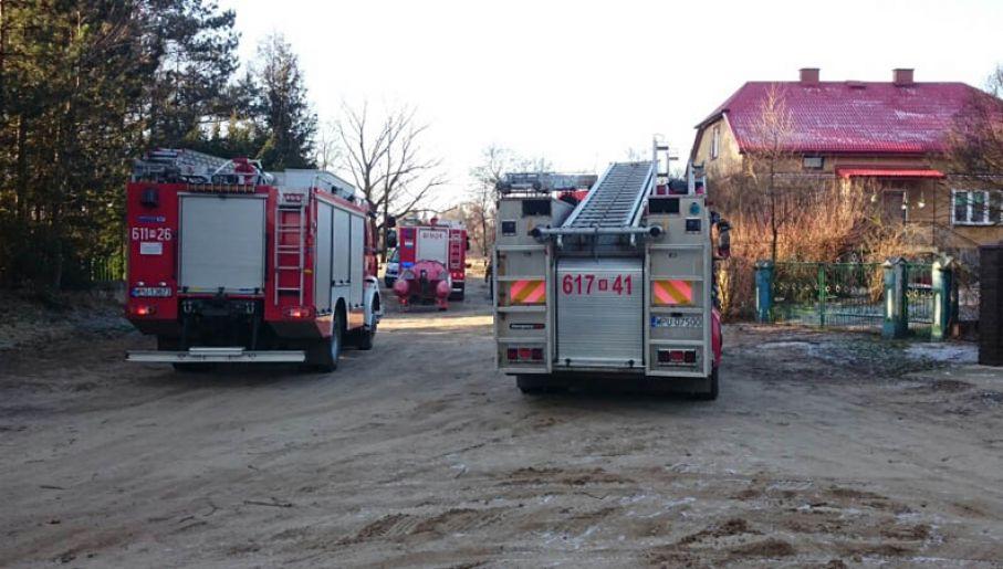Na miejsce przyjechała straż pożarna, policja i pogotowie (fot.Twoje Info/Jarosław)