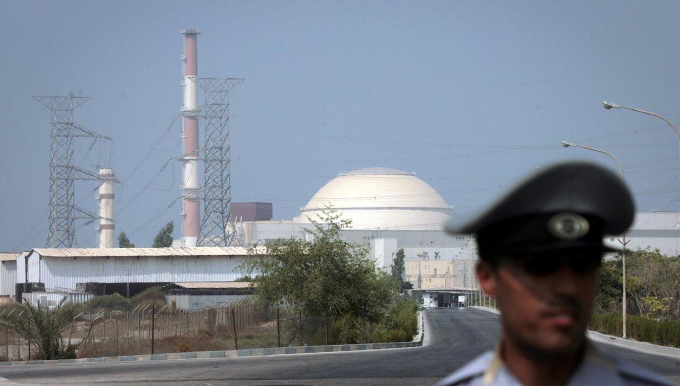Teheran powiadomił o tym Międzynarodową Agencję Energii Atomowej (fot.  XINHUA/Gamma-Rapho via Getty Images, zdjęcie lustracyjne)