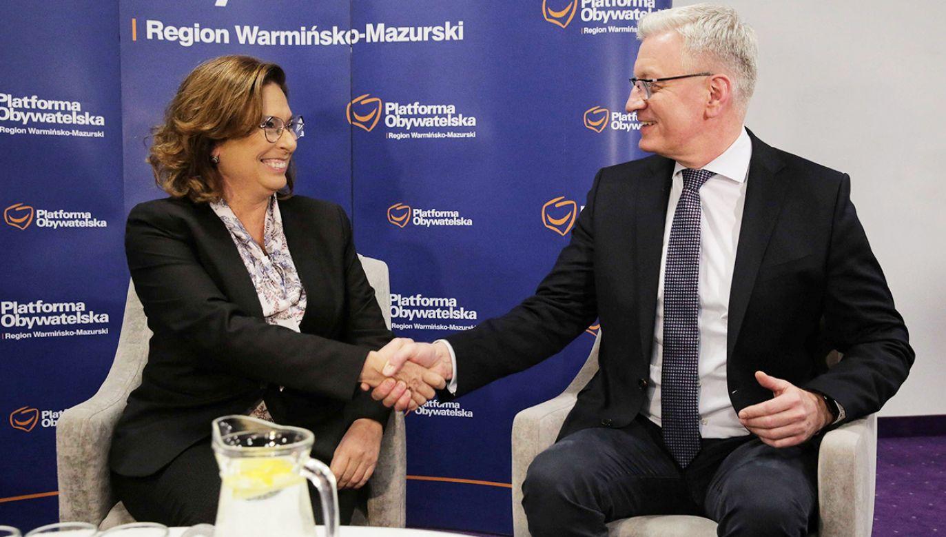 Szubartowicz jest znany ze swoich  krytycznych wypowiedzi wobec PiS (fot. PAP/Tomasz Waszczuk)