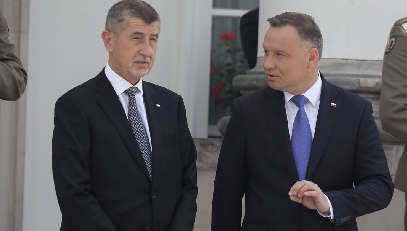 Przedstawiciele czeskich władz pogratulowali Dudzie (fot. PAP/EPA/Tomasz Gzell)