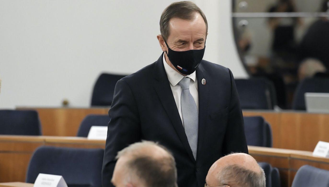 Grodzki twierdzi, że jest niewinny (fot. PAP/Piotr Nowak)